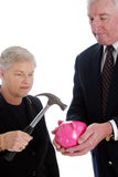 aîné de retraite de couples Photo stock