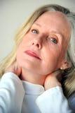 Aîné féminin mûr Photographie stock libre de droits