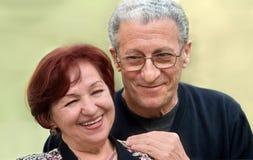 aîné heureux de couples images libres de droits