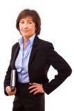 aîné heureux de femme d'affaires Photographie stock libre de droits