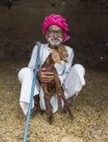 Aîné indien Photo stock
