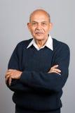 aîné indien asiatique d'homme Image libre de droits
