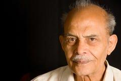 aîné indien d'homme Images stock