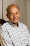 aîné indien d'homme Photographie stock