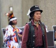 Aîné indigène au prisonnier de guerre wow Photographie stock