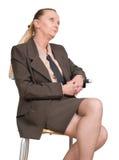aîné seul féminin de gestionnaire Photos libres de droits