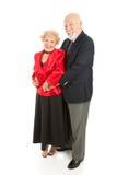 aînés affectueux de danse Photographie stock