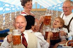 Aînés bavarois Photographie stock libre de droits