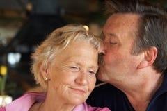 aînés d'amour Photo libre de droits