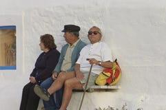 Aînés grecs types Photos stock