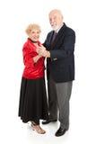 aînés heureux de danse Image stock