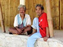 Aînés masculins tribals d'Iraya Images stock