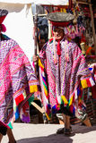 Aînés Quechua dans la vallée sacrée Photo stock