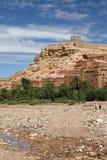 Aït Ben Haddou. Wiew of Aït Ben Haddou site in Morocco Royalty Free Stock Image