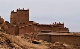 Aït Benhaddou the ancient village stock images