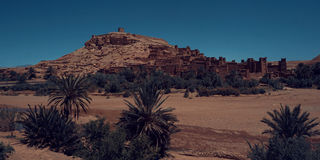 Aït Benhaddou. Aït Benhaddou - small village beetwen Sahara and Marrakech where was filmed: Gladiator, Game of Thrones, Prince of Persia, Jesus of Nazareth Stock Photos