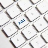 Añada el botón del amigo Imagenes de archivo