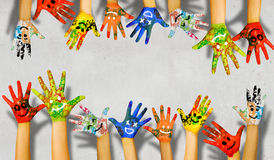 Añada el color a la vida Foto de archivo libre de regalías