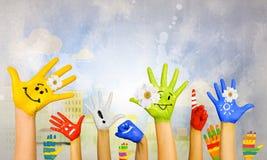Añada el color a la vida Imagen de archivo libre de regalías
