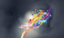 Añada el color a su vida Fotos de archivo