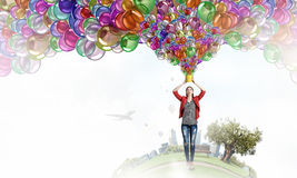 Añada el color y el día de fiesta a su vida Fotografía de archivo libre de regalías