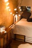 Añada un cierto calor a su dormitorio Fotografía de archivo