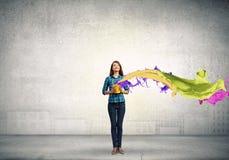 Añada un cierto color Imágenes de archivo libres de regalías