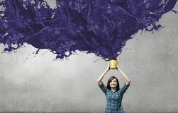 Añada un cierto color Foto de archivo libre de regalías
