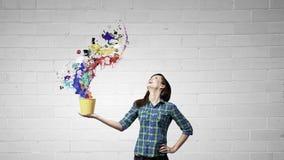 Añada un cierto color Imagen de archivo libre de regalías
