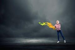 Añada un cierto color a su vida Foto de archivo libre de regalías