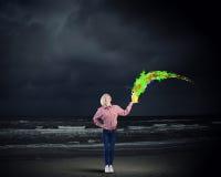 Añada un cierto color a su vida Fotografía de archivo libre de regalías