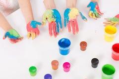 Añadamos un cierto color a nuestras vidas Foto de archivo libre de regalías