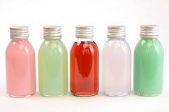 Añadidos coloridos del baño Fotos de archivo