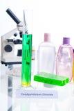 Añadidos nocivos en cosméticos Fotos de archivo