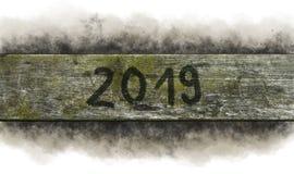 Año 2019 Imagen de archivo libre de regalías
