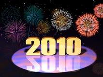 Año 2010 Fotos de archivo libres de regalías