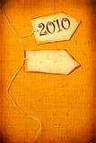 Año 2010 Imagen de archivo libre de regalías