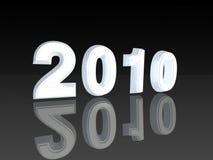 Año 2010 fotos de archivo
