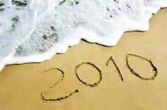 año 2010.new Imagen de archivo libre de regalías
