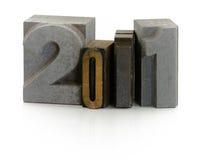 Año 2011 Imagen de archivo libre de regalías