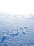 Año 2011 en alto clave Fotografía de archivo libre de regalías