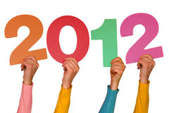 Año 2012 Imágenes de archivo libres de regalías