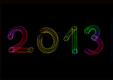 Año 2013 Fotos de archivo