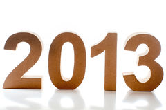 Año 2013 Imagen de archivo libre de regalías