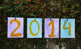 Año 2014 Fotos de archivo