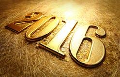 Año 2016 Imágenes de archivo libres de regalías