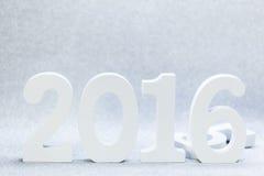 Año 2016 Imagen de archivo libre de regalías