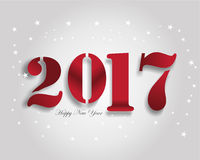Año 2017 Foto de archivo libre de regalías