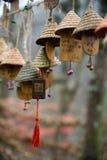 Año chino, bendiciendo Fotos de archivo