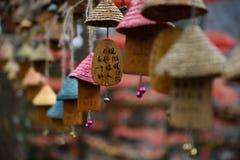 Año chino, bendiciendo Fotos de archivo libres de regalías